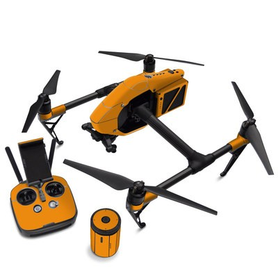DJI Inspire 2 Skin - Solid State Orange