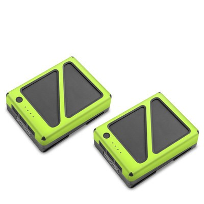 DJI Inspire 2 Battery Skin - Solid State Lime