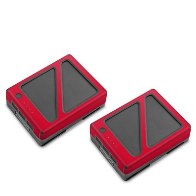 DJI Inspire 2 Battery Skin - Solid State Red