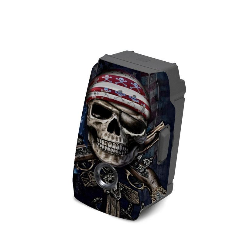 Sticker Skin Decal DJI Mavic Pro Wrap Skull Blood by David Penfound