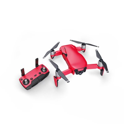 DJI Mavic Air Skin - Solid State Red