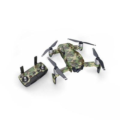 DJI Mavic Air Skin - Woodland Camo