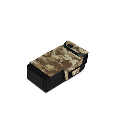 DJI Mavic Air Battery Skin - Coyote Camo