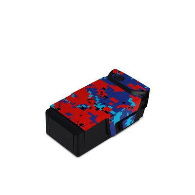 DJI Mavic Air Battery Skin - Digital Patriot Camo