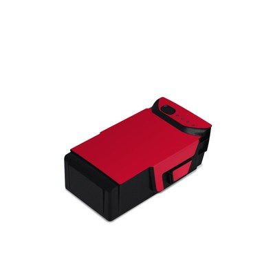 DJI Mavic Air Battery Skin - Solid State Red