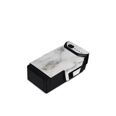 DJI Mavic Air Battery Skin - White Marble