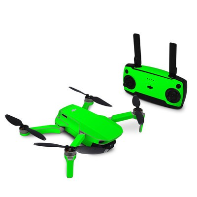 DJI Mavic Mini Skin - Neon Fluorescent Green