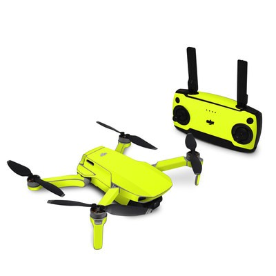 DJI Mavic Mini Skin - Neon Fluorescent Yellow