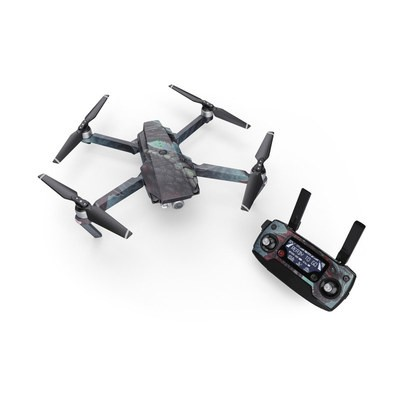 DJI Mavic Pro Skin - Black Dragon
