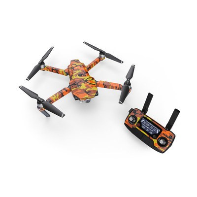 DJI Mavic Pro Skin - Orange Camo