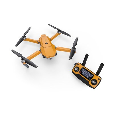 DJI Mavic Pro Skin - Solid State Orange