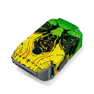 DJI Mavic Pro Battery Skin - Hot Tribal Skull