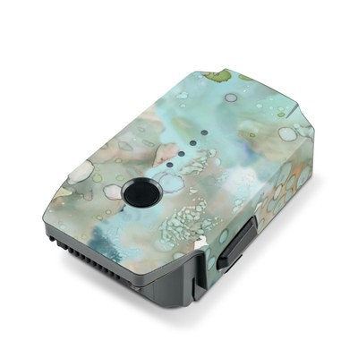 DJI Mavic Pro Battery Skin - Organic In Blue