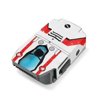 DJI Mavic Pro Battery Skin - Red Valkyrie