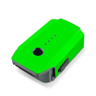 DJI Mavic Pro Battery Skin - Neon Fluorescent Green