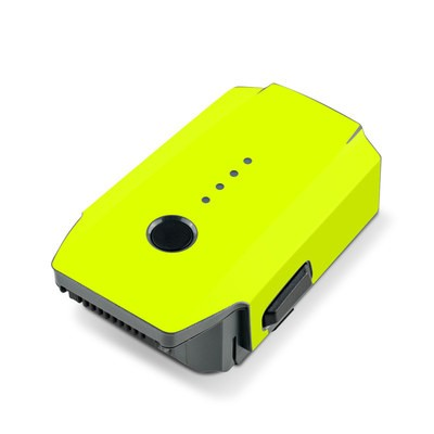 DJI Mavic Pro Battery Skin - Neon Fluorescent Yellow