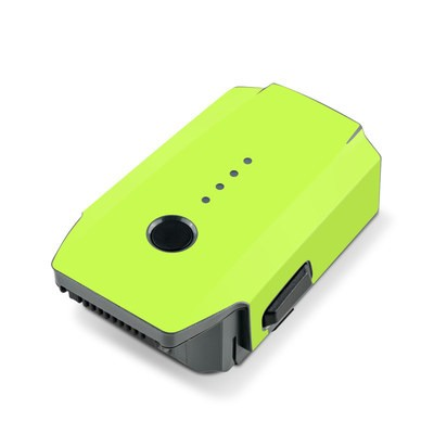 DJI Mavic Pro Battery Skin - Solid State Lime