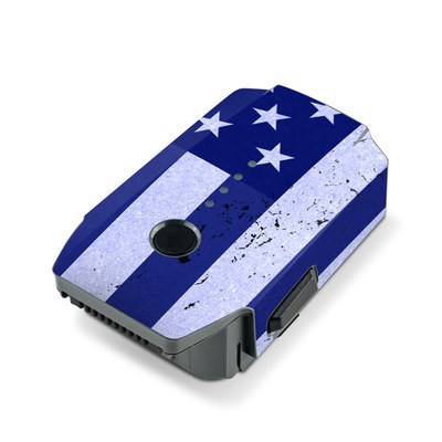 DJI Mavic Pro Battery Skin - USAF Flag