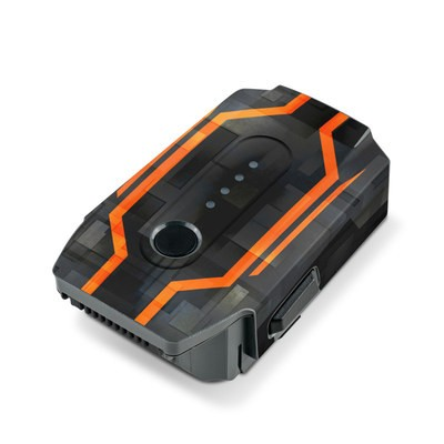 DJI Mavic Pro Battery Skin - V08 Starfighter