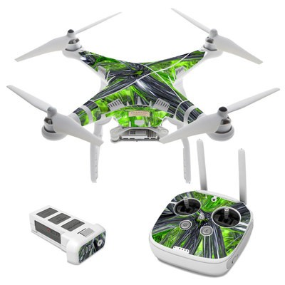 DJI Phantom 3 Skin - Emerald Abstract