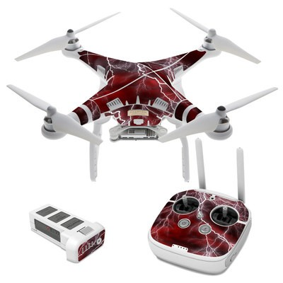 DJI Phantom 3 Skin - Apocalypse Red