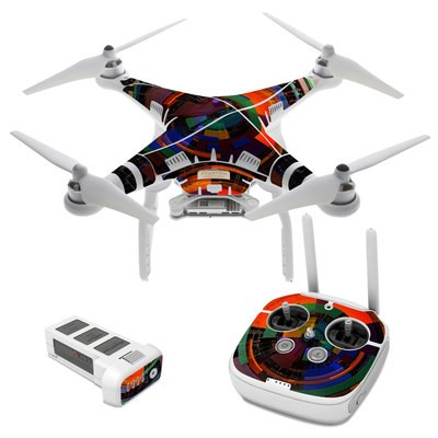 DJI Phantom 3 Skin - Color Wheel