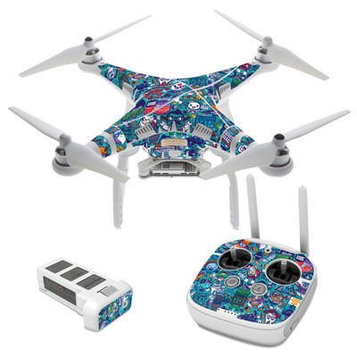 DJI Phantom 3 Skin - Cosmic Ray