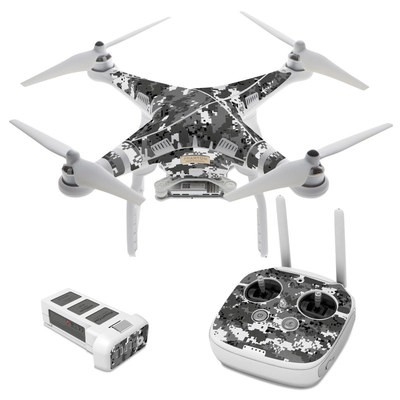 DJI Phantom 3 Skin - Digital Urban Camo