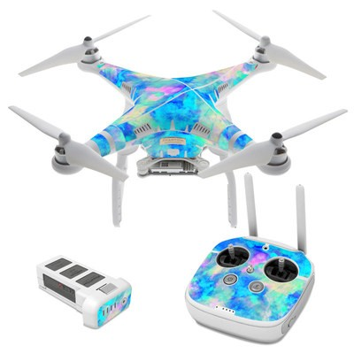 DJI Phantom 3 Skin - Electrify Ice Blue
