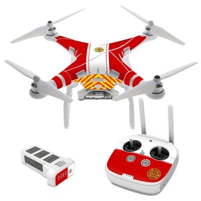 DJI Phantom 3 Skin - Fireproof