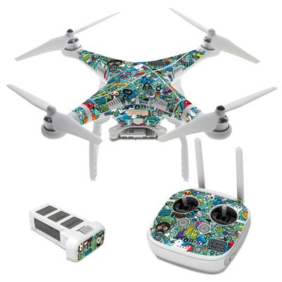 DJI Phantom 3 Skin - Jewel Thief