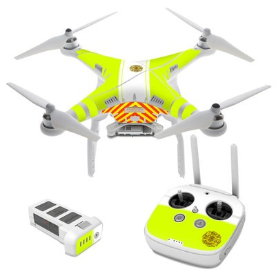 DJI Phantom 3 Skin - Rescue
