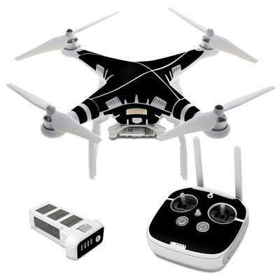 DJI Phantom 3 Skin - Solid State Black