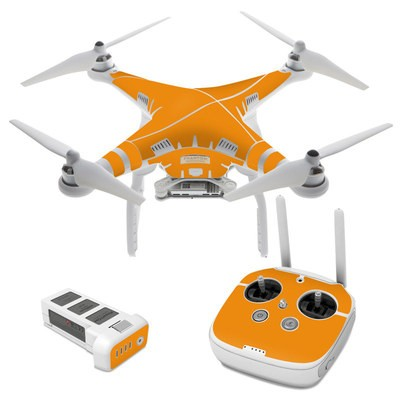 DJI Phantom 3 Skin - Solid State Orange