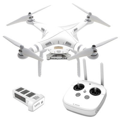 DJI Phantom 3 Skin - Solid State White
