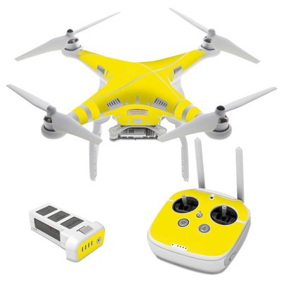 DJI Phantom 3 Skin - Solid State Yellow