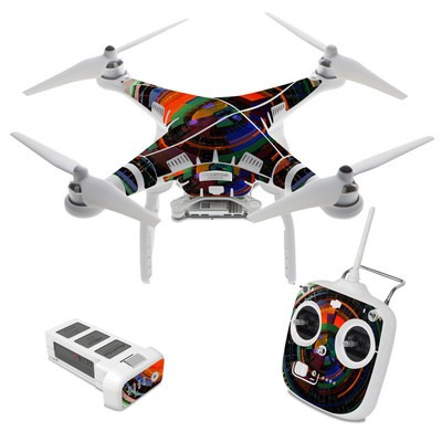 DJI Phantom 3 Standard Skin - Color Wheel