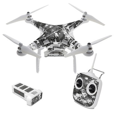 DJI Phantom 3 Standard Skin - Digital Urban Camo