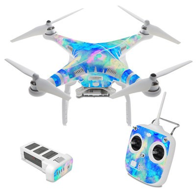 DJI Phantom 3 Standard Skin - Electrify Ice Blue