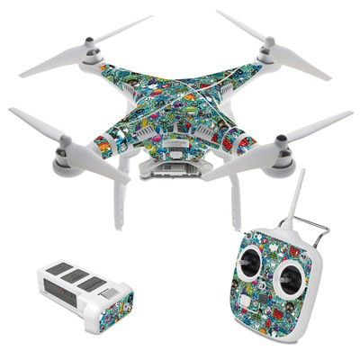 DJI Phantom 3 Standard Skin - Jewel Thief
