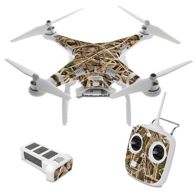 DJI Phantom 3 Standard Skin - Shadow Grass Blades