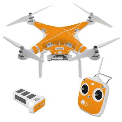 DJI Phantom 3 Standard Skin - Solid State Orange