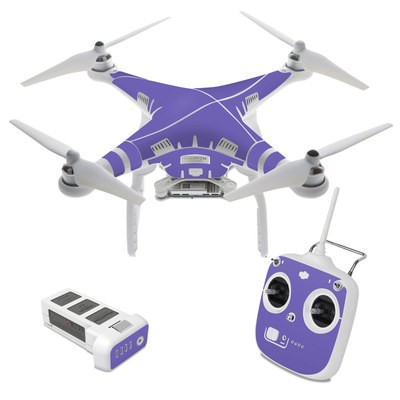 DJI Phantom 3 Standard Skin - Solid State Purple