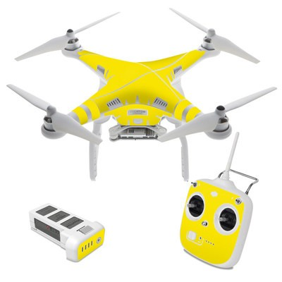 DJI Phantom 3 Standard Skin - Solid State Yellow