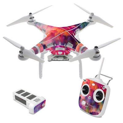 DJI Phantom 3 Standard Skin - Sunset Storm