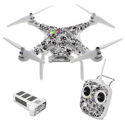 DJI Phantom 3 Standard Skin - TV Kills Everything