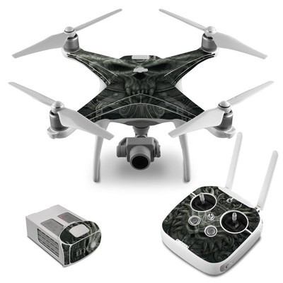 DJI Phantom 4 Skin - Black Book