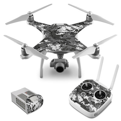 DJI Phantom 4 Skin - Digital Urban Camo