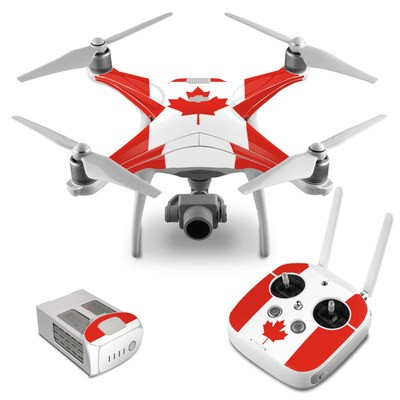 DJI Phantom 4 Skin - Canadian Flag