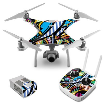 DJI Phantom 4 Skin - Hula Hoops